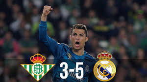 Последние твиты от real betis balompié (@realbetis). Real Betis Vs Real Madrid 3 5 Goals Highlights Youtube