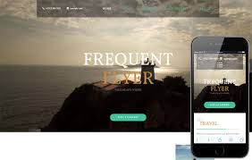Frequent Flyer A Travel Flat Bootstrap Responsive Template