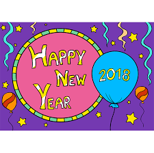 Chart On Happy New Year How To Draw Happy New Year 2018 Really Easy Drawing Tutorial