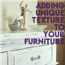 adding unique texture to your furniture the decor guru 11 diy chalk paint