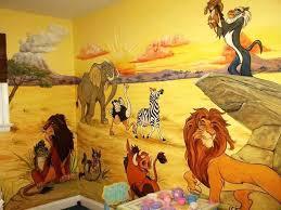 baby nursery lion king baby nursery room decor decoration ideas wall mural disney ki