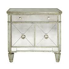 z gallerie borghese mirrored side chest 59900 use as nightstands again look for borghese mirrored furniture