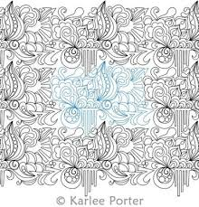 27 best Long arm quilt patterns images on Pinterest | Quilt block ... & Graffiti Doodle 1 is a digitized quilting design by Karlee Porter. Stitch  file formats available Adamdwight.com