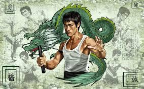 bruce lee dragon wallpaper