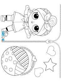 Can Do Baby Da Colorare Lol Surprise Cartoni Animati