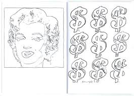 Andy Warhol Coloring Pages Awesome Coloring Book Andy Warhol
