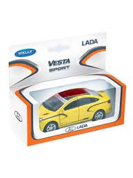 <b>Модель машины</b> 1:34-39 LADA Vesta sport <b>WELLY</b> 16505523 ...