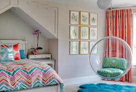 fun chairs for bedrooms inside room the hanging bubble chair and fur rug allow a teen plan 10