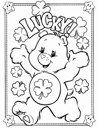 Print and color the best free st. Coloring Pages For St Patricks Day Awesome Free Printable Care Bear Coloring Pages For Kids Teddy Bear Coloring Pages Bear Coloring Pages Coloring Books