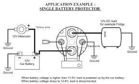 inexpensive volt smart battery isolator powerstream images robust inexpensive 12v 150amp smart battery isolator and split
