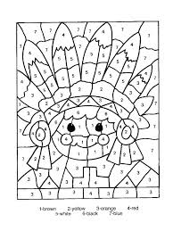 Number Coloring Sheets Fashionadvisorinfo