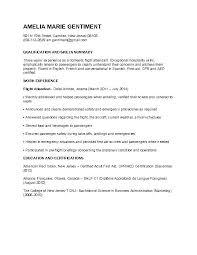 Sample Flight Attendant Resume Lofty Design Ideas Cover Letter For ...