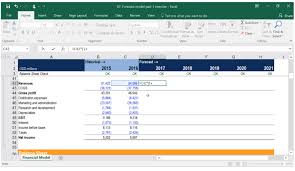 excel modeling building a financial model financial modeling course