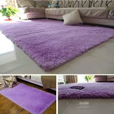 fluffy rugs anti skiding gy area rug dining room carpet floor mats purple round melbourne home