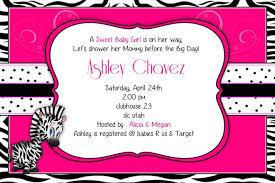 Zebra Baby Shower Invitations  THERUNTIMECOMPink Zebra Baby Shower Invitations