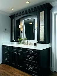upper cabinets bathroom white vanity