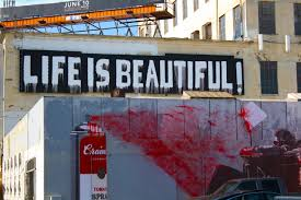 first look at life is beautiful mr brainwash l a taco  0846