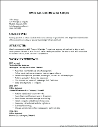 Free Example Resume Stunning Free Resume Examples For Jobs As Well As Typical Resume Format