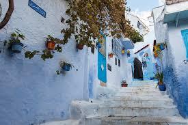Resultado de imagen para La calle Azul de Chefchaouen, Marruecos