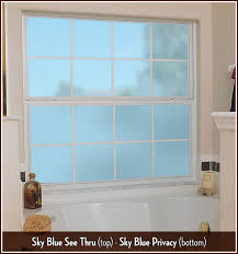 color tint sky blue window