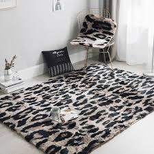 plush bedroom rugs. Beautiful Plush Fashion Luxury Leopard Plush Carpet Household Rugs Living Room Bedroom Sofa  Bed Side Mats Non Inside Plush Bedroom Rugs M