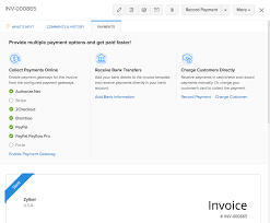 Pay Invoice Template Online And Offline Payments Apply Credits To Invoices