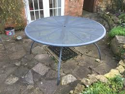 large circular garden table plenty of e for family or guests stratford upon avon