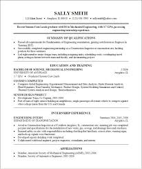 Example Of College Resume Template | Resume Builder