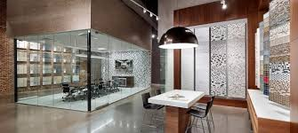 modern dining room design with cozy interceramic tile flooring and bowl pendant lighting plus modern dining