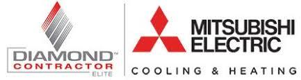 mitsubishi electric cooling and heating logo. mitsubishi logo electric cooling and heating