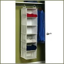 hanging closet organizer diy fabric canada with drawers