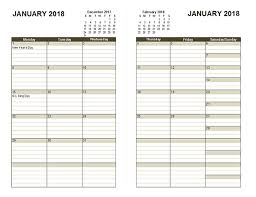 Diary Page Template 2018 Diary Planner Template Free Printable Templates