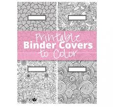 Coloring Page Binder Cover Printable Coloring Binder Covers 150 Free Unique Creative Binder