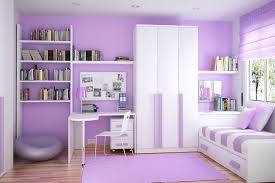 3 tags Contemporary Kids Bedroom with Built-in bookshelf, Laminate floors,  Overlea plastic dining chair