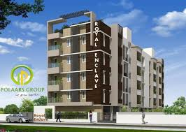Sq Ft  BHK T Apartment For Sale In Polaars Royal Enclave - Modern apartment building elevations