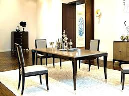 area rug under dining room table area rug under dining table size room best for proper