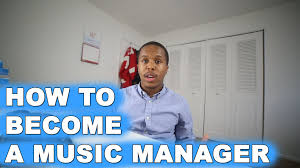 How To Become A Music Manager Youtube
