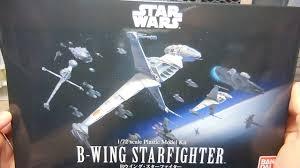 Bandai B Wing Lighting Kit Bandai 1 72 Star Wars B Wing Plamo Unboxing