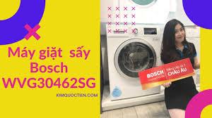 KIMQUOCTIEN.COM I Máy giặt kết hợp sấy Bosch WVG30462SG cao cấp - YouTube