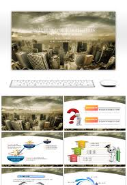 Architectural Powerpoint Template Awesome Ppt Template For Modern Architecture And Urban