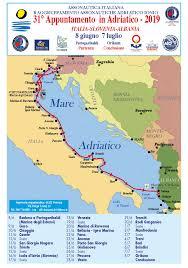 31° Appuntamento in Adriatico 2019. Italia - Slovenia - Albania