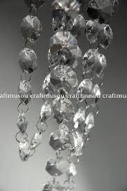 1 can 30 feet hanging clear faux crystal acrylic strands glass crystal garlands garland manzanita crystals wishing tree crystals