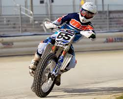 k n air filters sponsored professional flat track racer cory