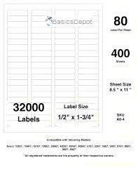 Label Template 8167 Label Template Avery 8167 Label Template