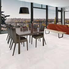 Porcelain Floor Tiles Kitchen Rich Blanco Glazed Polished Porcelain Floor Tile 600x600mm