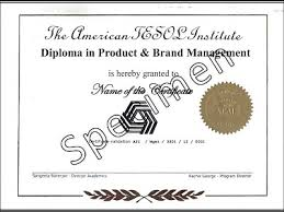 diploma in brand and product management career options