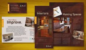Home Remodeling Brochure Flyer Ads Datasheet And Stationery Impressive Remodeling Advertising