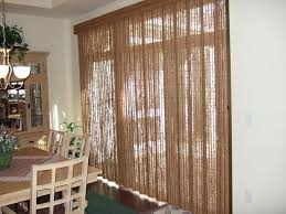 image of sliding glass door with blinds