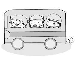 画像 1118 遠足ピクニックのかわいい無料イラスト集バスお弁当