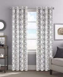 Amazon.com: Colordrift Christina 54 x 84 Inches Curtain with Grommet Finish  - Neutral: Home & Kitchen